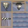 Product Image of Blue (1802) Beach / Nautical Area Rug