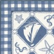 Product Image of Blue, Ivory (1807) Beach / Nautical Area Rug