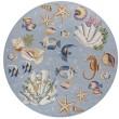 Product Image of Light Blue (1805) Beach / Nautical Area Rug