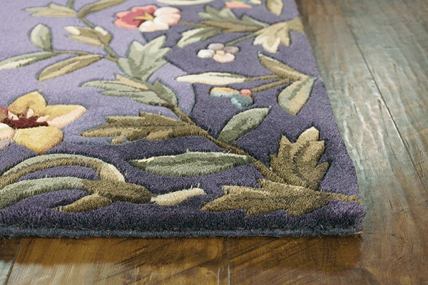 Kas Emerald Garden Rugs Wool Floral Area Rugs Rugs Direct