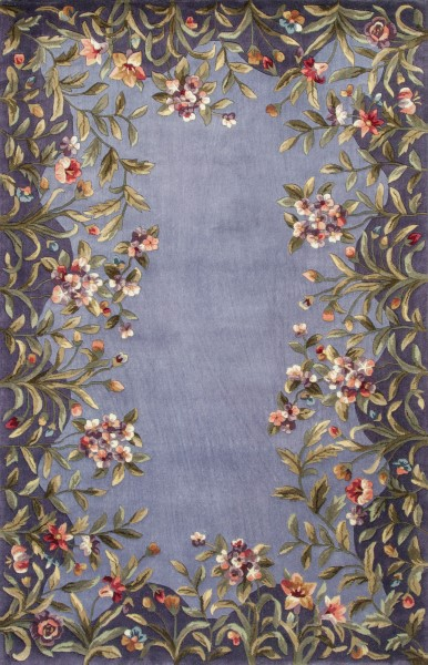 Lavender (9006) Floral / Botanical Area Rug