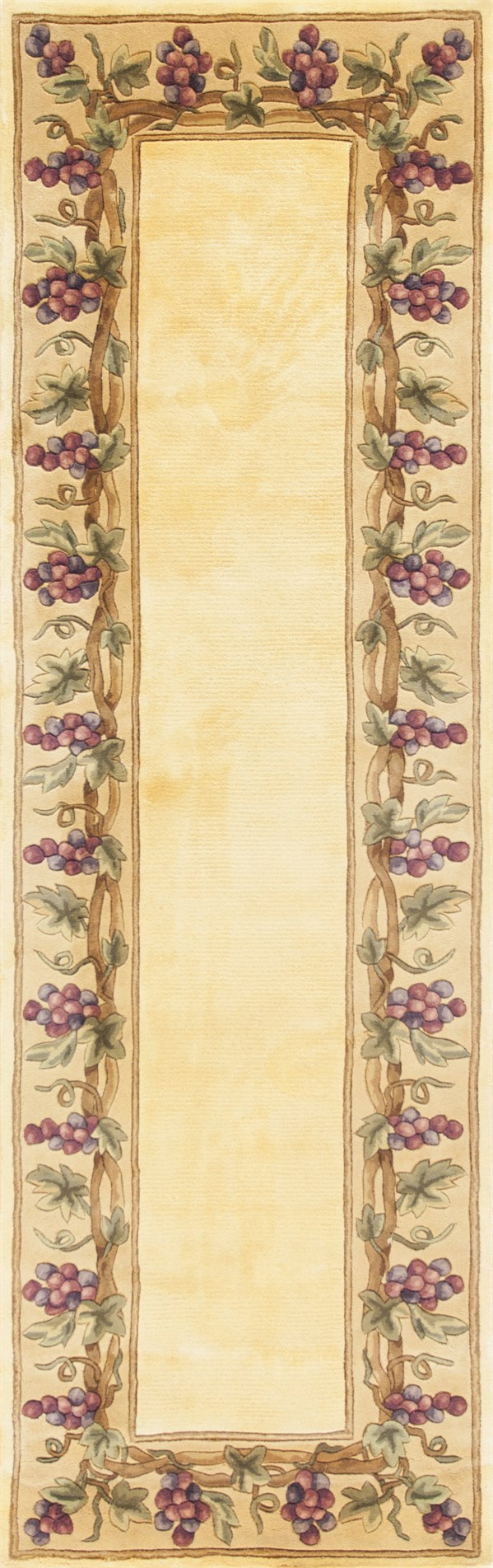 Ivory (9058) Country Area Rug