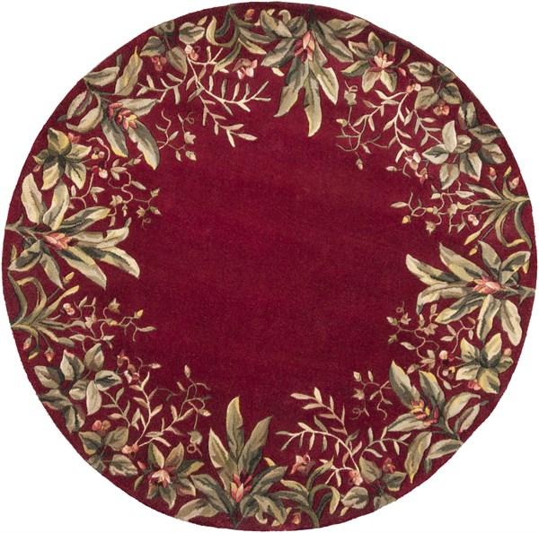 Ruby (9017) Floral / Botanical Area Rug