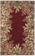 Product Image of Floral / Botanical Ruby (9017) Area Rug