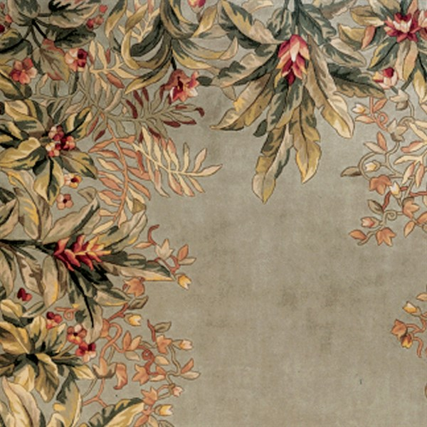 Sage (9026) Floral / Botanical Area Rug