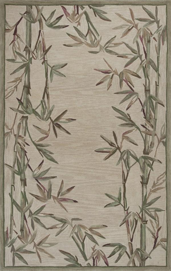 Ivory (3146) Floral / Botanical Area Rug