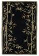 Product Image of Floral / Botanical Black (3147) Area Rug