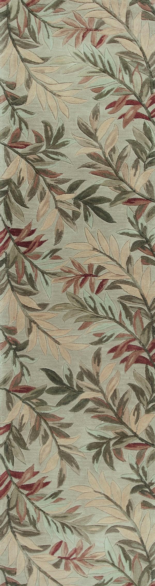 Sage (3144) Floral / Botanical Area Rug