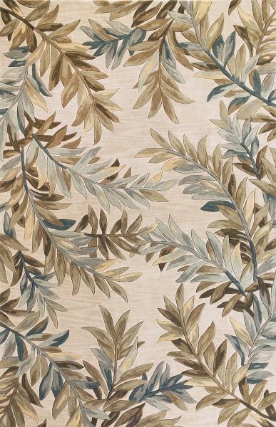 Ivory (3126) Floral / Botanical Area Rug