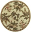 Product Image of Ivory (3133) Floral / Botanical Area Rug