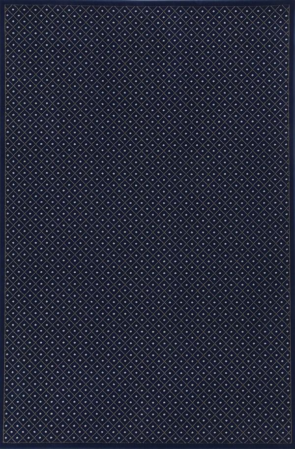 Navy Solid Area Rug