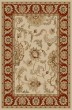 Product Image of Traditional / Oriental Ivory, Brick  Area Rug