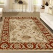 Product Image of Ivory, Brick  Traditional / Oriental Area Rug