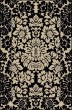Product Image of Traditional / Oriental Absolute Black Area Rug