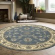 Product Image of Grey, Blue Traditional / Oriental Area Rug