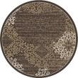 Product Image of Brown Mandala Area Rug