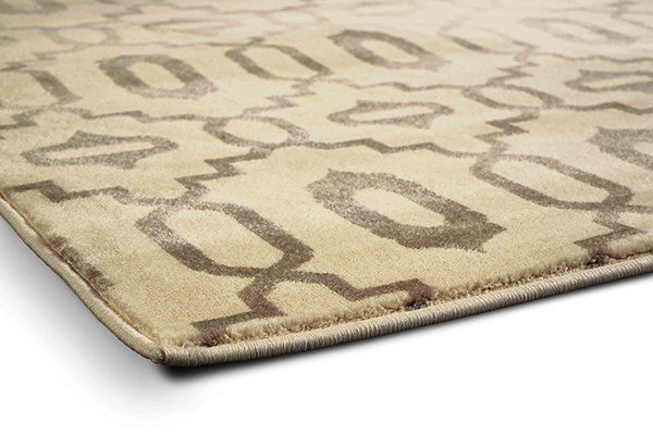 Ivory Transitional Area Rug