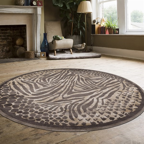 Rugs Direct Giorno Animal Print
