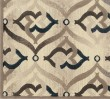 Product Image of Bone Contemporary / Modern Area Rug