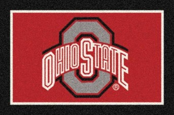 College Spirit Rugs Ohio State arearugs
