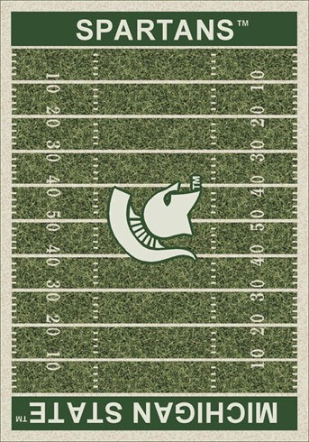 Homefield Rugs (3319) Michigan State arearugs