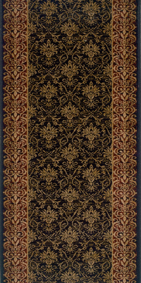 Black (21594) Traditional / Oriental Area Rug