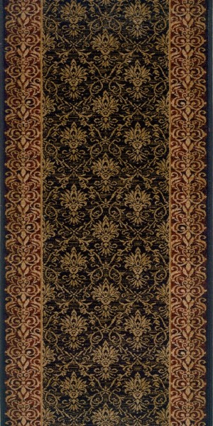 Black (21594) Traditional / Oriental Area Rug