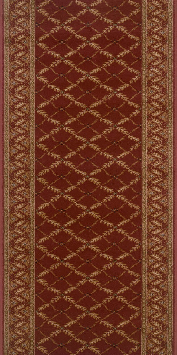 Claret (2630) Traditional / Oriental Area Rug