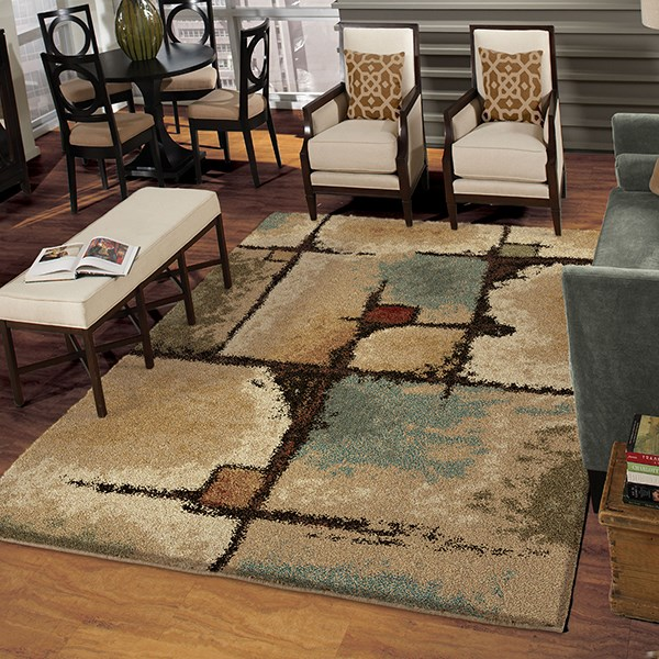 Bisque (1642) Contemporary / Modern Area Rug
