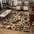 Product Image of Bisque (1608) Floral / Botanical Area Rug