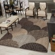 Product Image of Black, Gray, Gold, Cream (1650) Transitional Area Rug