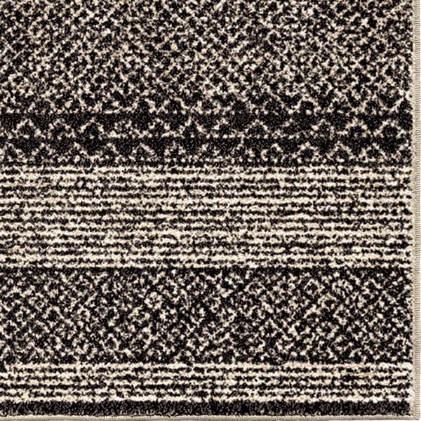 Black, Ivory (1686) Southwestern / Lodge Area Rug