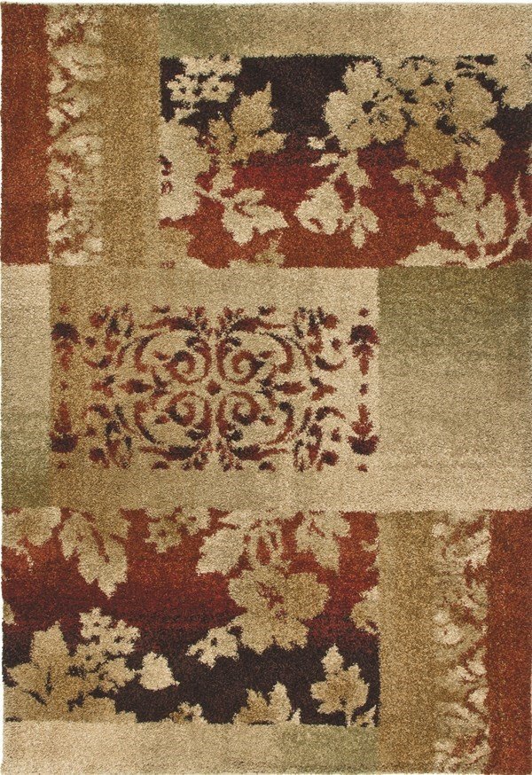 Rouge (1616) Transitional Area Rug