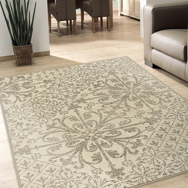 Ivory, Grey (2029) Transitional Area Rug