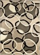 Product Image of Black, Gray (2001) Contemporary / Modern Area Rug