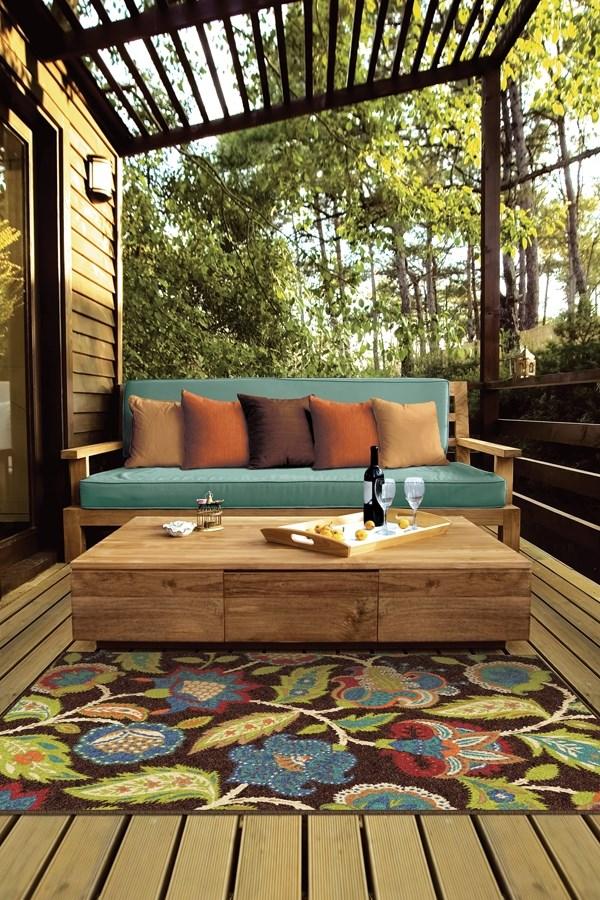 Brown (2314) Outdoor / Indoor Area Rug