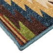 Product Image of Gold, Dark Blue, Green (2362) Outdoor / Indoor Area Rug