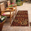 Product Image of Brown, Red, Yellow, Orange (2324) Outdoor / Indoor Area Rug