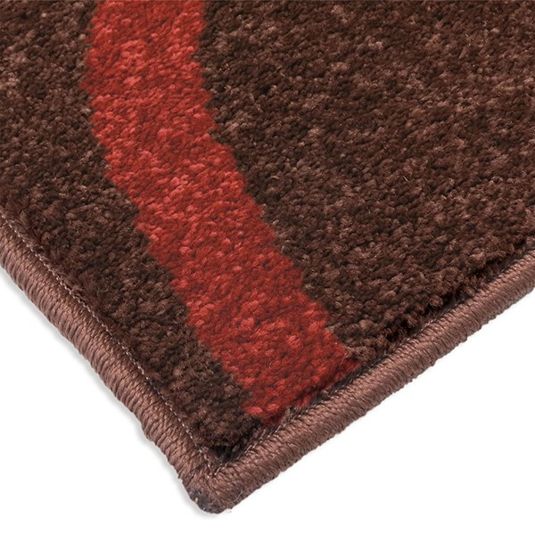Brown, Red, Yellow, Orange (2324) Outdoor / Indoor Area Rug