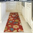 Product Image of Red, Green, Blue, Ivory (2313) Outdoor / Indoor Area Rug