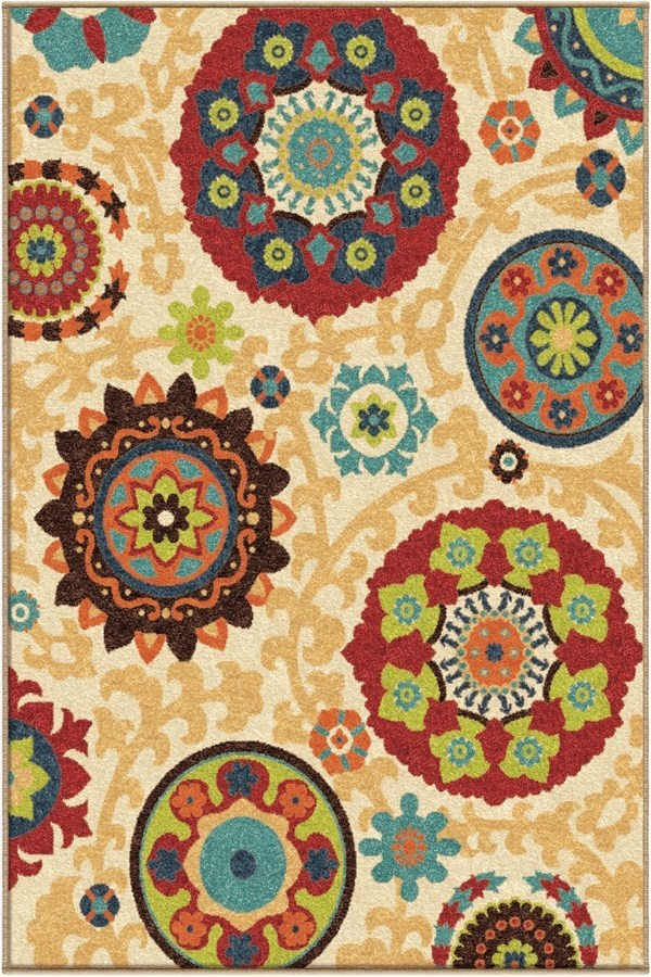 White (2304) Transitional Area Rug