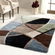 Product Image of Blue, Beige, Ivory, Green (1729) Geometric Area Rug