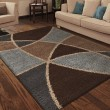 Product Image of Brown, Beige, Ivory, Blue (1730) Geometric Area Rug