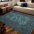 Product Image of Blue, Brown, Light Blue, Navy (3006) Bohemian Area Rug