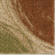 Product Image of Red, Beige, Seafoam (3711) Shag Area Rug