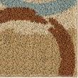 Product Image of Beige, Burnt Orange, Blue (3719) Shag Area Rug