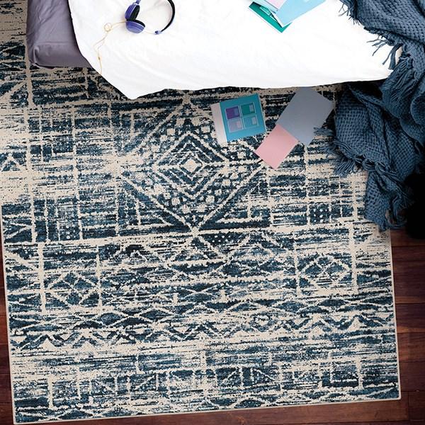 Denim Vintage / Overdyed Area Rug