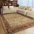 Product Image of Ivory, Beige, Orange (4319) Traditional / Oriental Area Rug