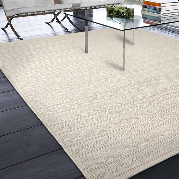 Ivory (3905) Outdoor / Indoor Area Rug