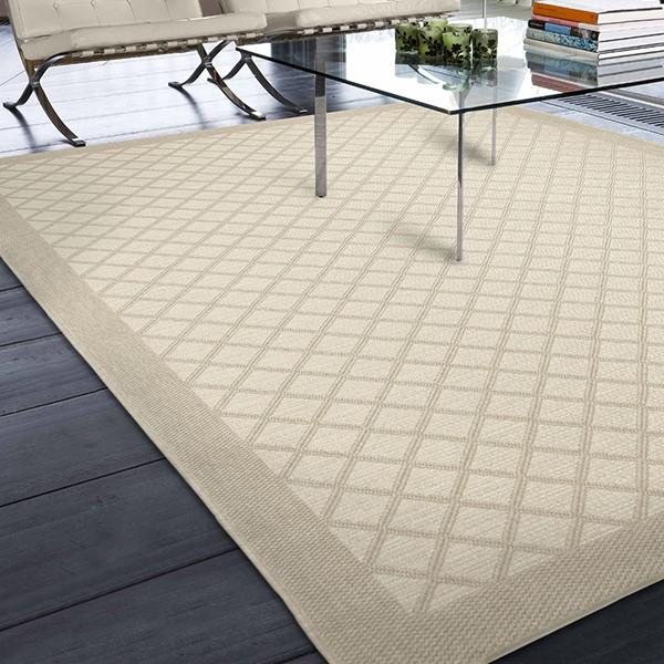 Ivory (3914) Outdoor / Indoor Area Rug